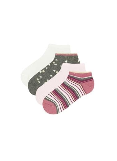 Penti Kız Çocuk Çok Renkli Kız Çorap Seti PHP38VSI20SK Renkli